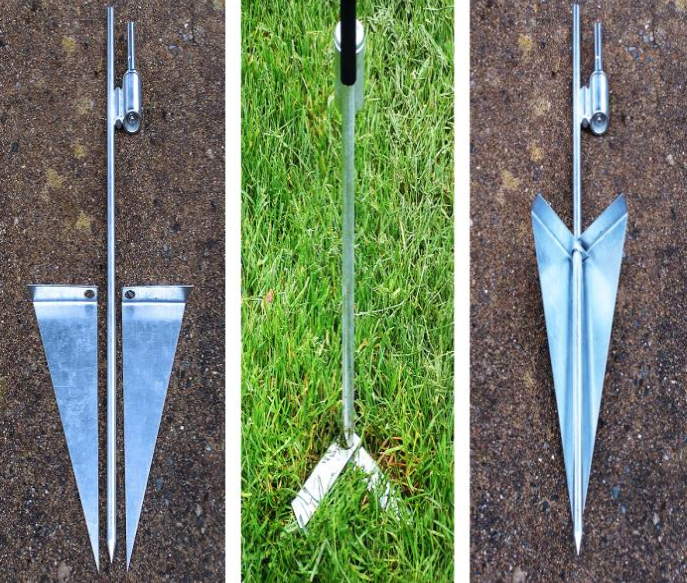 GROUND STAKE BRACES