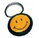 CIRCULAR CASE KEY TAGS - SMILE ON 1 SIDE - 1 COLOR IMPRINT ON 2ND SIDE