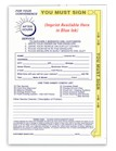 NIGHT DROP ENVELOPES STANDARD WITH YELLOW HIGHLIGHT